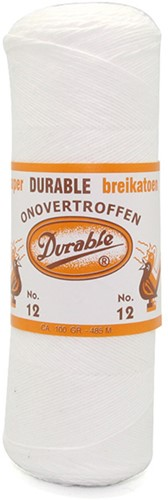Durable Breikatoen No. 12 09 Wit