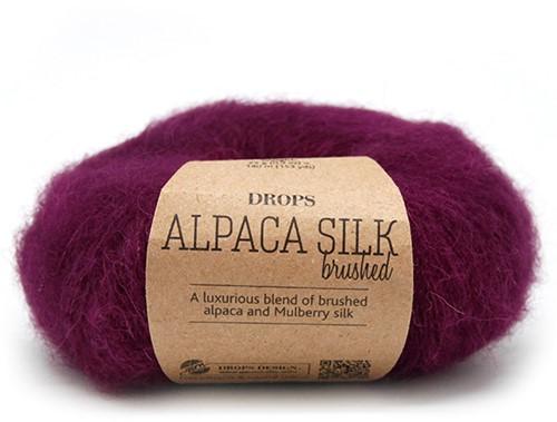 Drops Brushed Alpaca Silk Uni Colour 09 Purple