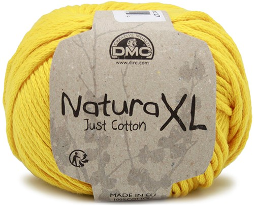 DMC Natura XL 09 Yellow
