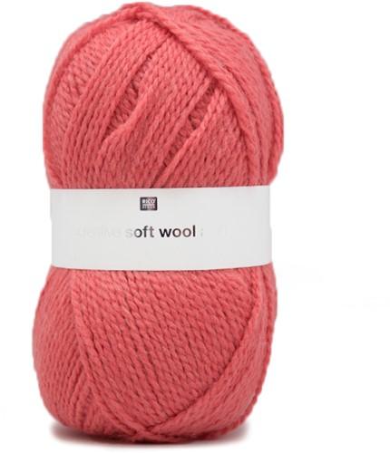 Rico Creative Soft Wool Aran 9 Cherry