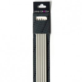 Lana Grossa 40cm kunststof kousenbreinaalden 7mm