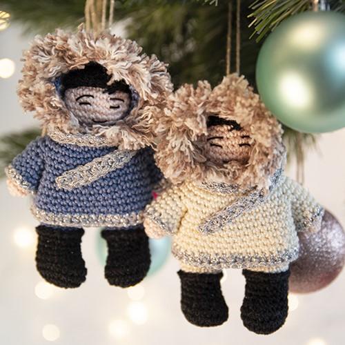 Eskimo Kersthanger Haakpakket
