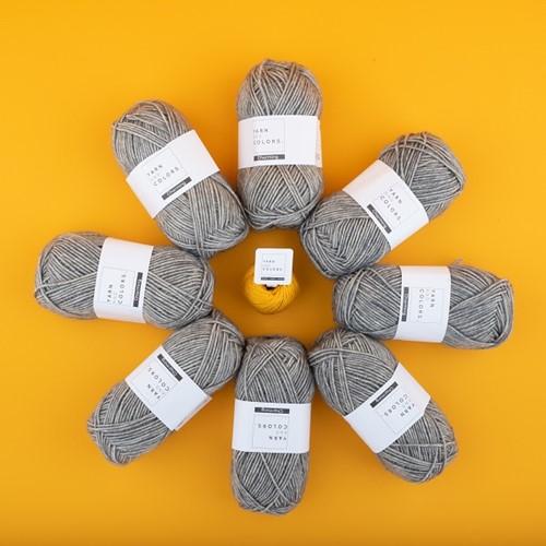Yarn and Colors Toned Triangle Haakpakket 5 Wolplein Editie