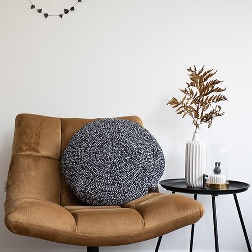 Yarn and Colors Dazzling Comfy Cushion Haakpakket White / Black