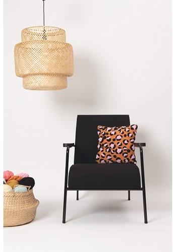 Luipaard Kussen Punchpakket 1 Orange/Black/Candy pink