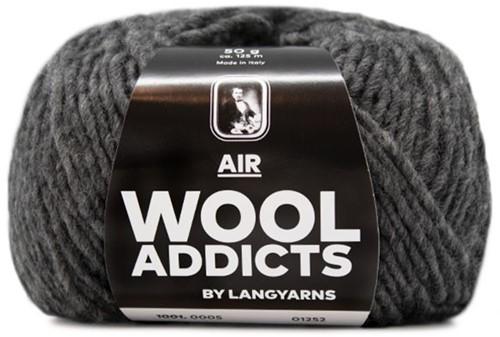 Wooladdicts No Plain Jane Vest Breipakket 6 XL