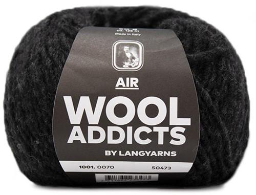 Wooladdicts Balmy Breeze Poncho Breipakket 7 S/M