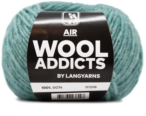 Wooladdicts Mint To Be Kabelsjaal Breipakket 9