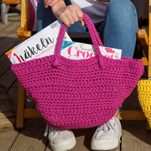 Haakpatroon RibbonXL Avila Beachbag