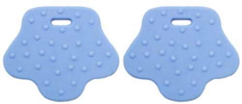 Dierenpootje Bijtringen 7 Babyblauw
