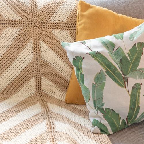 Yarn and Colors Basic Blanket Haakpakket 009 Limestone