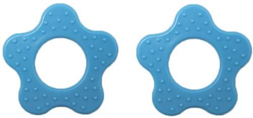 Durable Bijtring Bloem met Noppen 298 Blue