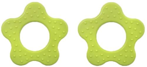 Durable Bijtring Bloem met Noppen 547 Apple Green