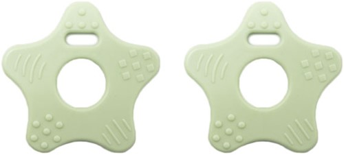Durable Bijtring Ster 369 Pastel Green