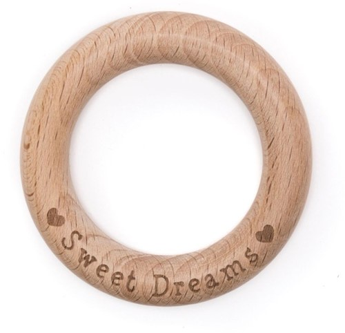 Durable Houten Bijtring Sweet Dreams