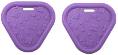 Durable Bijtring Triangel 183 Purple