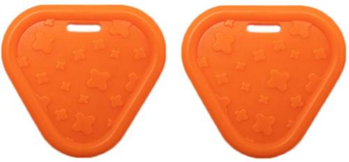 Durable Bijtring Triangel 693 Orange