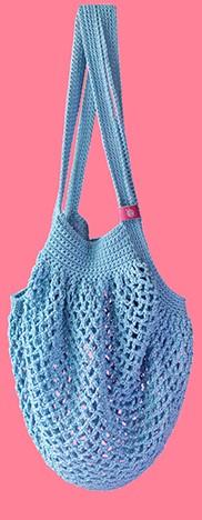 Joly Bag Haakpakket 4 Lichtblauw