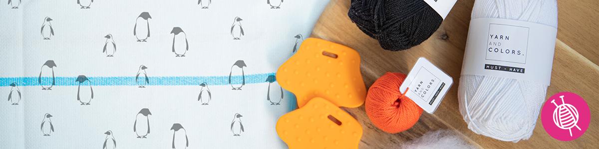 Haak of brei de liefste amigurumi-pinguïn!