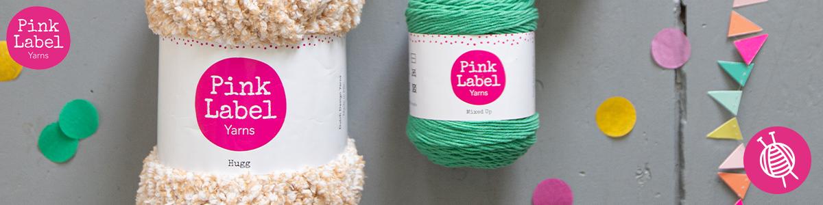 Haak of brei met Pink Label Yarns!