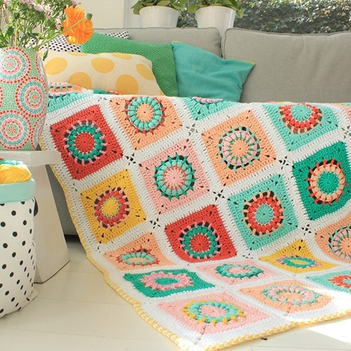 Yarn and Colors Blossom Blanket Haakpakket