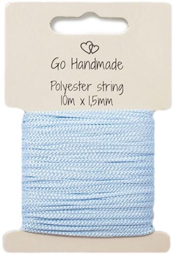Polyester Koord 5 Blauw