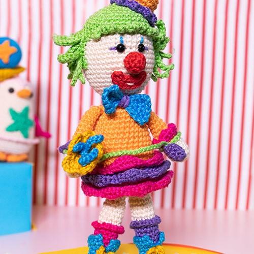 Haakpatroon De Circus Clown