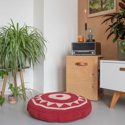 Yarn and Colors Boho Floor Cushion Haakpakket