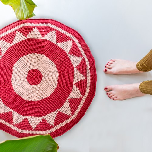 Haakpatroon Yarn and Colors Boho Floor Cushion