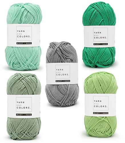 Yarn and Colors Must-Have Boho Wall Hanging Haakpakket 1 Small