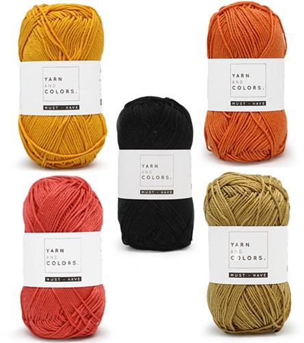 Yarn and Colors Must-Have Boho Wall Hanging Haakpakket 2 Big