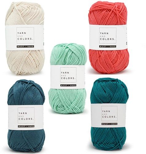 Yarn and Colors Must-Have Boho Wall Hanging Haakpakket 3 Small