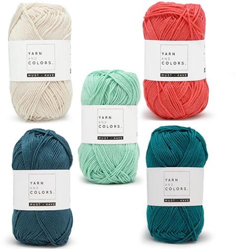 Yarn and Colors Must-Have Boho Wall Hanging Haakpakket 3 Big