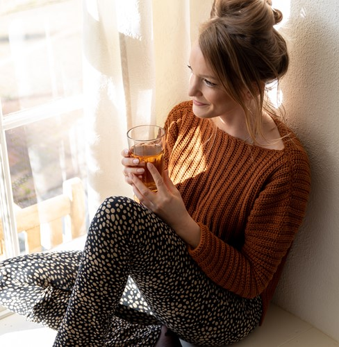 Yarn and Colors Brunch Time Sweater Haakpakket 2 Satay XS