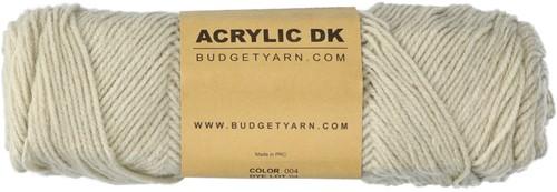 Budgetyarn Acrylic DK 004