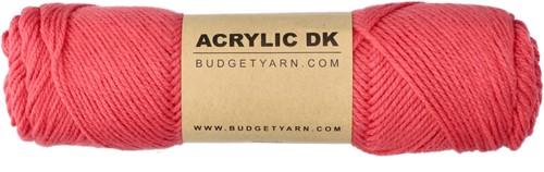 Budgetyarn Acrylic DK 040 Pink Sand