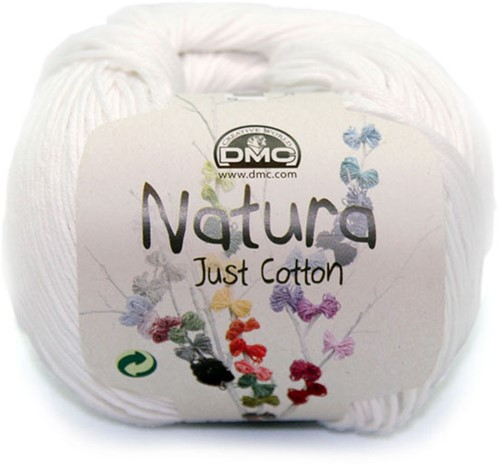 DMC Cotton Natura N01 Ibiza
