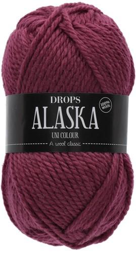 Drops Alaska Uni Colour 53 Dark-pink