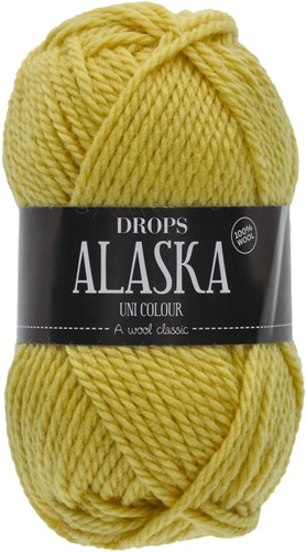 Drops Alaska Uni Colour 59 Lemon