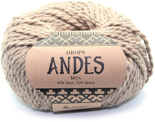 Drops Andes Mix 619 Beige