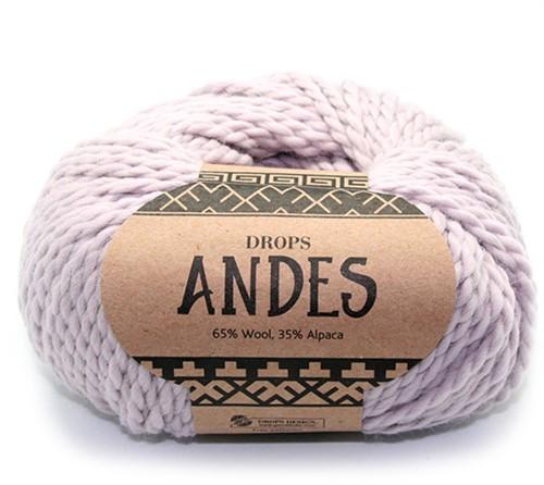 Drops Andes Uni Colour 4010 Parelgrijs