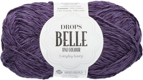 Drops Belle Uni Colour 19 Dark-violet