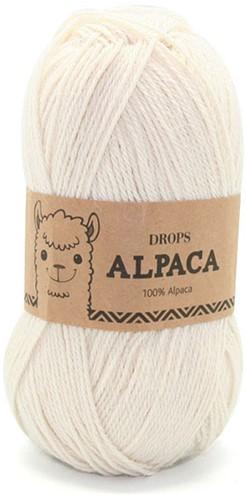 Drops Alpaca Uni Colour 100 Naturel