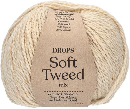 Drops Soft Tweed Mix 02 Marzipan