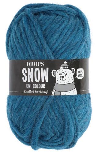 Drops Snow (Eskimo) Uni Colour 05 Petrol