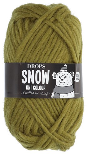 Drops Snow (Eskimo) Uni Colour 06 Olive