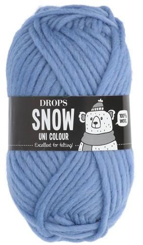 Drops Snow (Eskimo) Uni Colour 12 Light blue