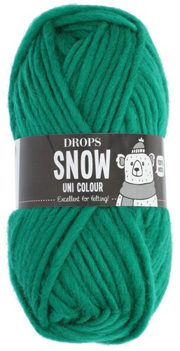 Drops Snow (Eskimo) Uni Colour 25 Hot green