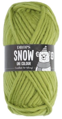 Drops Snow (Eskimo) Uni Colour 29 Apple green