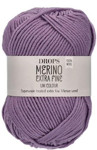 Drops Merino Extra Fine Uni Colour 22 Lila